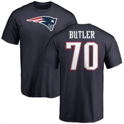 Men's Adam Butler New England Patriots Name & Number Logo T-Shirt - Navy