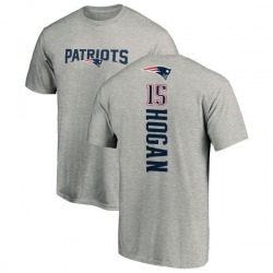 Men's Chris Hogan New England Patriots Backer T-Shirt - Ash