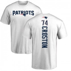 Men's Cole Croston New England Patriots Backer T-Shirt - White