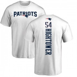 Men's Dont'a Hightower New England Patriots Backer T-Shirt - White