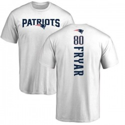 Men's Irving Fryar New England Patriots Backer T-Shirt - White