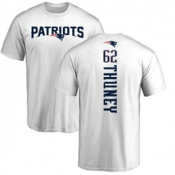 Men's Joe Thuney New England Patriots Backer T-Shirt - White