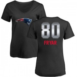 Women's Irving Fryar New England Patriots Midnight Mascot T-Shirt - Black