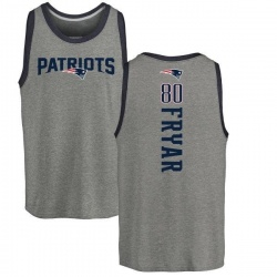Youth Irving Fryar New England Patriots Backer Tri-Blend Tank Top - Ash