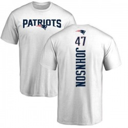 Youth Jakob Johnson New England Patriots Backer T-Shirt - White