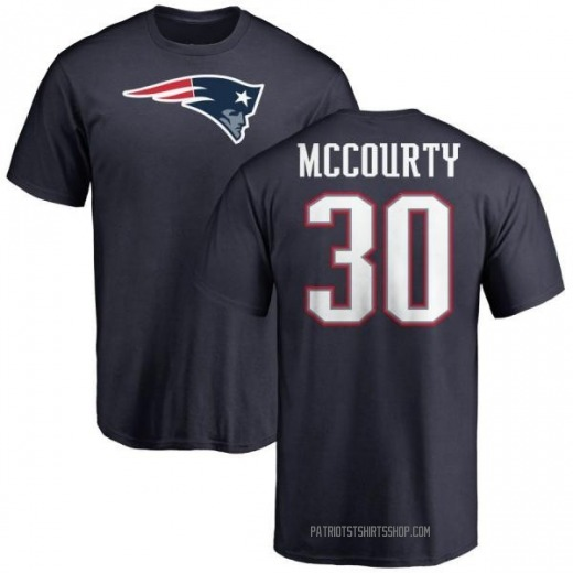 Youth Jason McCourty New England Patriots Name & Number Logo T-Shirt - Navy