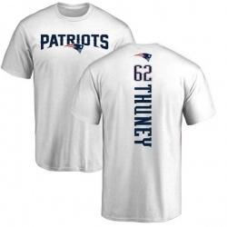 Youth Joe Thuney New England Patriots Backer T-Shirt - White