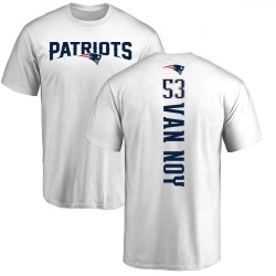 Youth Kyle Van Noy New England Patriots Backer T-Shirt - White