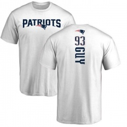 Youth Lawrence Guy New England Patriots Backer T-Shirt - White