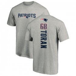 Youth Najee Toran New England Patriots Backer T-Shirt - Ash