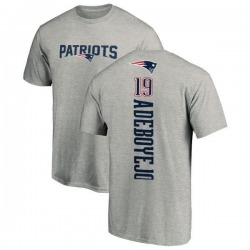 Youth Quincy Adeboyejo New England Patriots Backer T-Shirt - Ash