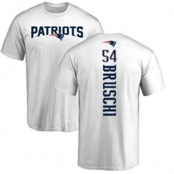Youth Tedy Bruschi New England Patriots Backer T-Shirt - White