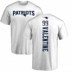 Youth Vincent Valentine New England Patriots Backer T-Shirt - White